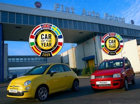 FIAT-PANDA_FIAT-500_CAR OF THE YEAR_FOT_Ireneusz KAZMIERCZAK