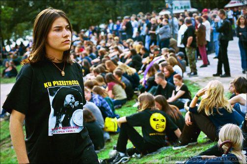 """II Tyski Festiwal Muzyczny im. Ryska Riedla """"Ku Przestrodze"""" - 2000."""