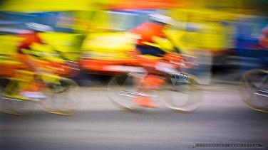 Wyscig kolarski_Tychy_2001_fot_Ireneusz Kazmierczak