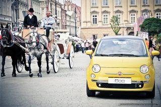 FIAT 500_Rynek Krakow_fot_Ireneusz Kazmierczak