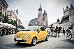 FIAT 500_Rynek Kraków