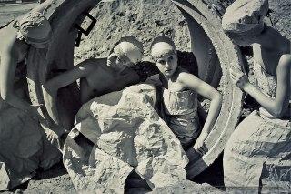 Amatorski Teatr Ruchu i Pantomimy MIGRESKA_30-08-1999_Tychy_fot_Ireneusz Kazmierczak