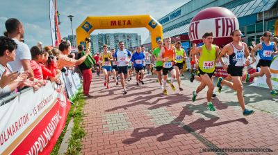 II Tyski Półmaraton (21 km) i VIII Międzynarodowy Tyski Bieg Uliczny (10 km)