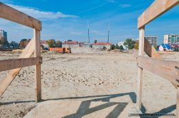 Stadion GKS Tychy_budowa_09.10.2013