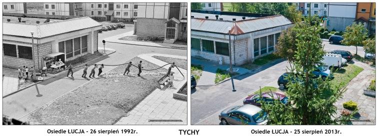 TYCHY - Osiedle £UCJA 1992-2013