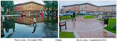 TYCHY - Plac św. Anny 1996-2013