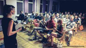 """Wernisaż fotografii Doroty Ziętek oraz pokaz filmu z projektu """"Hey You"""" w MCK Tychy - 12.06.2014r."""