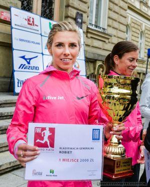Iwona Lewandowska - 22. BIEG FIATa - 18.05.2014