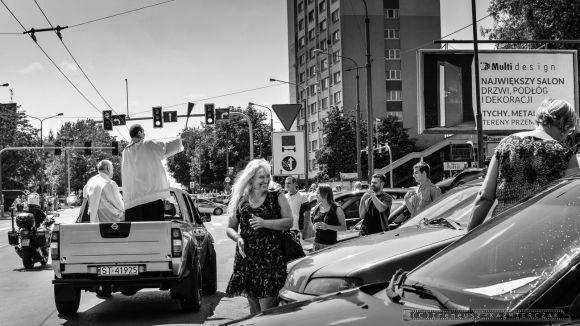 ŒŚwięcenie pojazdów w parafii św. Krzysztofa _Tychy_27.07.2014_FOT_IRENEUSZ KAZMIERCZAK