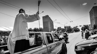 Święcenie pojazdów w parafii św. Krzysztofa