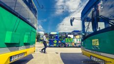 TYSKIE LINIE TROLEJBUSOWE_ZAJEZDNIA_12-07-2014_FOT_IRENEUSZ KAZMIERCZAK