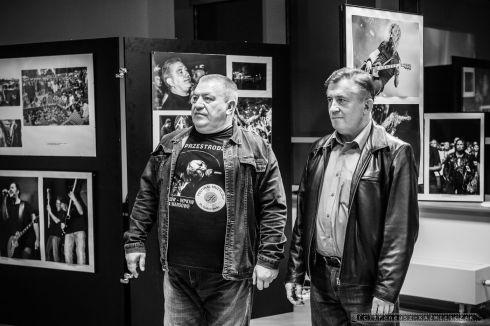 """Adam Antosiewicz, Ireneusz Kaźmierczak - Wernisaż wystawy fotograficznej """"Ku Przestrodze"""""""