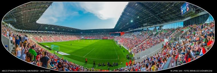 MECZ OTWARCIA STADIONU MIEJSKIEGO_GKS TYCHY_18-07-2015_FOT_IRENEUSZ KAZMIERCZAK.
