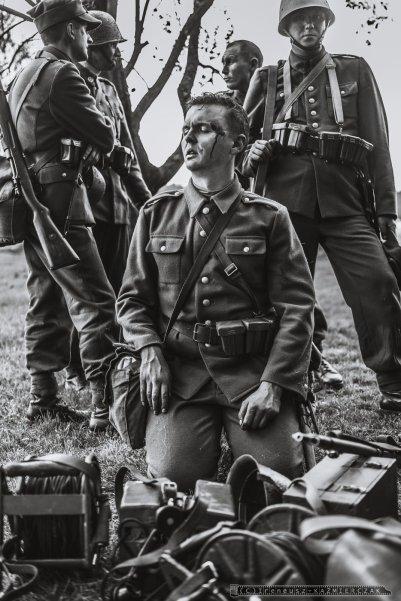 """""""Bitwa Wyrska – Boj o Gostyn"""" jest upamietnieniem zapomnianych przez historie, a wygranych przez Polakow walk z najezdzca hitlerowskim toczacych sie w dniach 1-3 wrzesnia 1939 r. w obrebie miejscowosci Wyry i Gostyn na Slasku_21-05-2016_FOT_IRENEUSZ KAZMIERCZAK."""