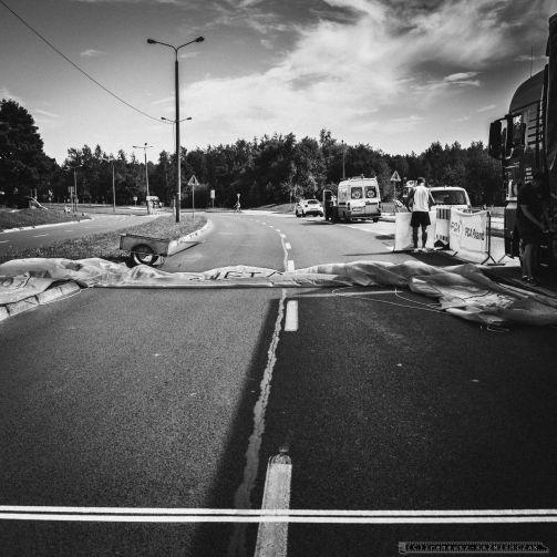 Patryk Stosz, mistrz Polski orlikow w jezdzie na czas, zostal triumfatorem 14. edycji Wyscigu Kolarskiego Tyskie Kryterium Fiata_23-07-2016_FOT_IRENEUSZ KAZMIERCZAK.