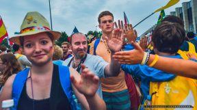 SWIATOWE DNI MLODZIEZY_PIELGZYMI_28-07-2016_KRAKOW_FOT_IRENEUSZ KAZMIERCZAK