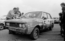 XXXV RAJD WISLY_TOR TYCHY_19-09-1987_Fot_Ireneusz KAZMIERCZAK.