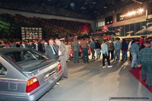 MIEDZYNARODOWE TARGI MOTORYZACJI_POZNAN_25-05-1995_FOT_IRENEUSZ KAZMIERCZAK