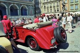 ALFA ROMEO TOUR_MOTOR SHOW_POZNAN_24-05-2001_FOT_IRENEUSZ KAZMIERCZAK