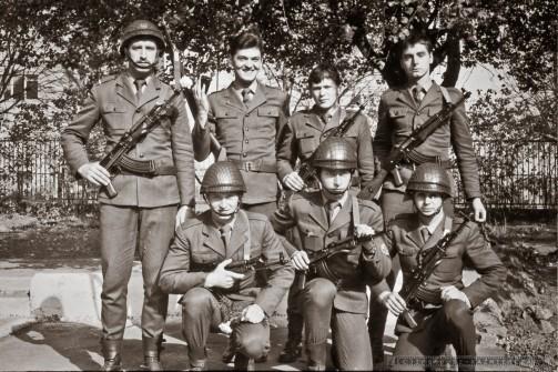 Œwiêto LUDOWEGO WOJSKA POLSKIEGO_11-BATALION ROZPOZNANIA ELEKTRONICZNEGO_ZGORZELEC_1978_FOT_IRENEUSZ KAZMIERCZAK.