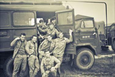 Æwiczenia na poligonie. 11-Batalion Rozpoznania Radioelektronicznego_WÊDRZYN_1979_FOT_IRENEUSZ KAZMIERCZAK.
