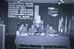 Zebranie ZSMP 11-Batalion Rozpoznania Radioelektronicznego w Zgorzelcu_1979_FOT_IRENEUSZ KAZMIERCZAK.