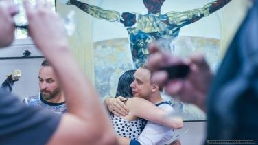 """Wernisa¿ wystawy Bartosza Hadrysia """"Sztuka na ró¿nych p³aszczyznach"""" w MCK Tychy_15.06.2018_Fot_Ireneusz KAMIERCZAK."""