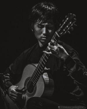 Zwycięzca Konkursu Gitarowego im. J.E.Jurkowskiego. I nagroda - Chiawei Lin.