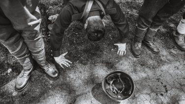 """Inscenizacja_BITWA WYRSKA_BOJ O GOSTYN_21-05-2016_fot_Ireneusz KAZMIERCZAK. Bitwa Wyrska 2016: W Gostyni odby³a siê XII edycja inscenizacji historycznej pn: """"Bitwa Wyrska - Bój o Gostyñ"""". Jest to upamiêtnienie wygranych przez Polaków walk z hitlerowcami, które toczy³y siê na pocz¹tku wrzeœnia 1939 roku w obrêbie miejscowoœci Wyry i Gostyñ na œl¹sku."""