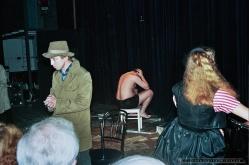 PETLA_Teatr BELFEgoR_Tychy_1994_FOT_IRENEUSZ KAZMIERCZAK. S³awomir ¯ukowski za³o¿y³ Teatr BELFEgoR w Tychach w 1986 roku.