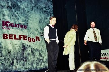 X LECIE Teatr BELFEgoR_Tychy_1996_FOT_IRENEUSZ KAZMIERCZAK. S³awomir ¯ukowski za³o¿y³ Teatr BELFEgoR w Tychach w 1986 roku.