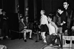 FOLWARK ZWIERZECY_Teatr BELFEgoR_Tychy_1990_FOT_IRENEUSZ KAZMIERCZAK. S³awomir ¯ukowski za³o¿y³ Teatr BELFEgoR w Tychach w 1986 roku.