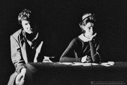 INTERMEDIUM CZWARTE_Teatr BELFEgoR_Tychy_1991_FOT_IRENEUSZ KAZMIERCZAK. S³awomir ¯ukowski za³o¿y³ Teatr BELFEgoR w Tychach w 1986 roku.