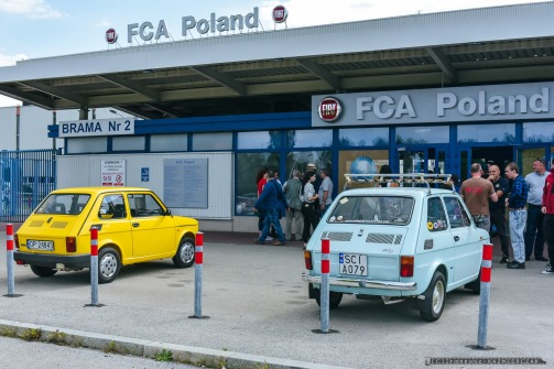 Rajd Samochodow Zabytkowych_FCA Poland_Tychy_13-09-2019_Fot_Ireneusz KAZMIERCZAK.